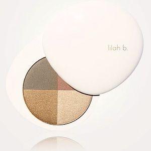 NIB LILAH B Palette Perfection Eye Quad b. envied